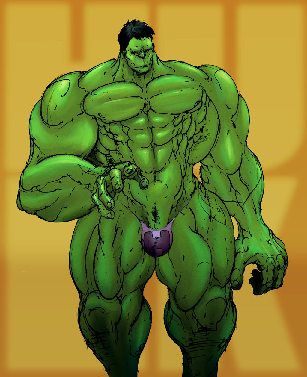 Hulk Costume Redesign By Selkirk Colors By Carol Colors