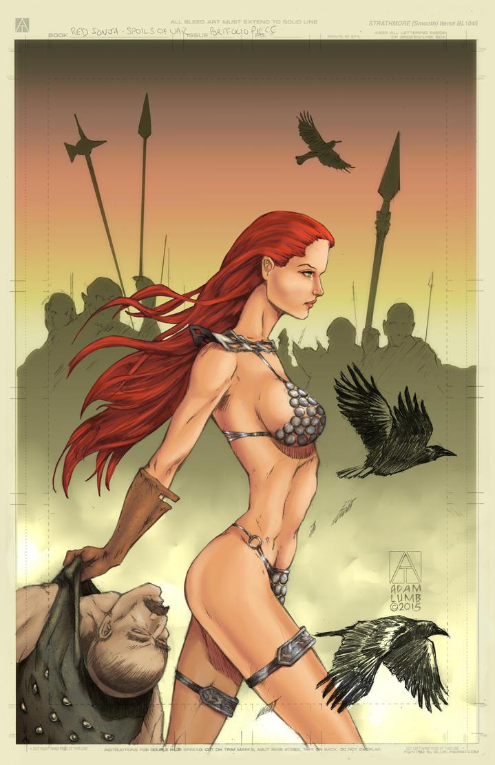 Red Sonja   Spoils of War by adamlumb (COLORS) by carol-colors