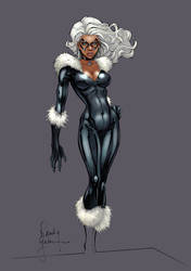 Black Cat Redux by RandyGreen (COLORS)