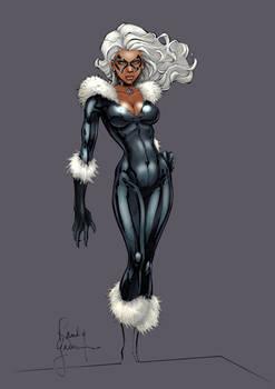 Black Cat Redux by RandyGreen (COLORS)