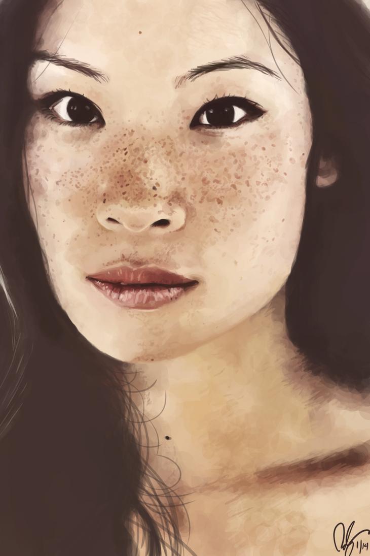 Lucy Liu by tuolumnie