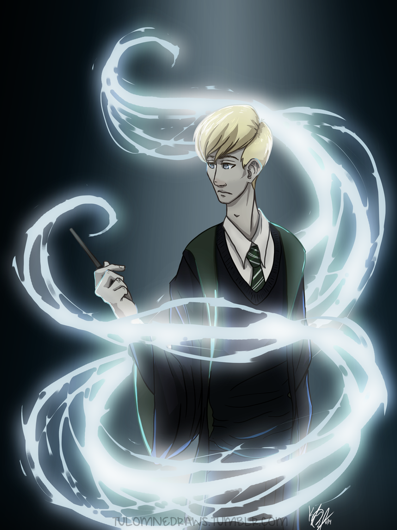 Draco Malfoy by tuolumnie