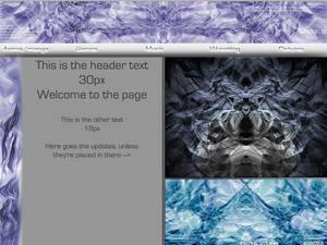 Webpage layout thing