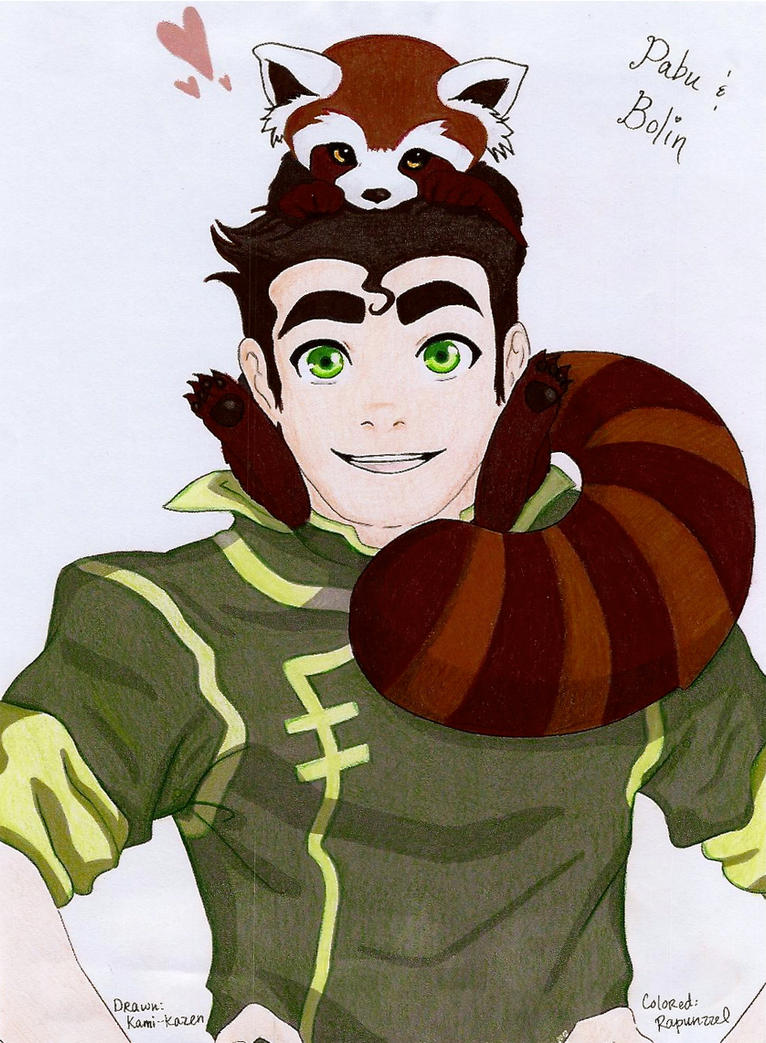 Bobu! (Bolin and Pabu- Legend of Korra) by Rapunzzel