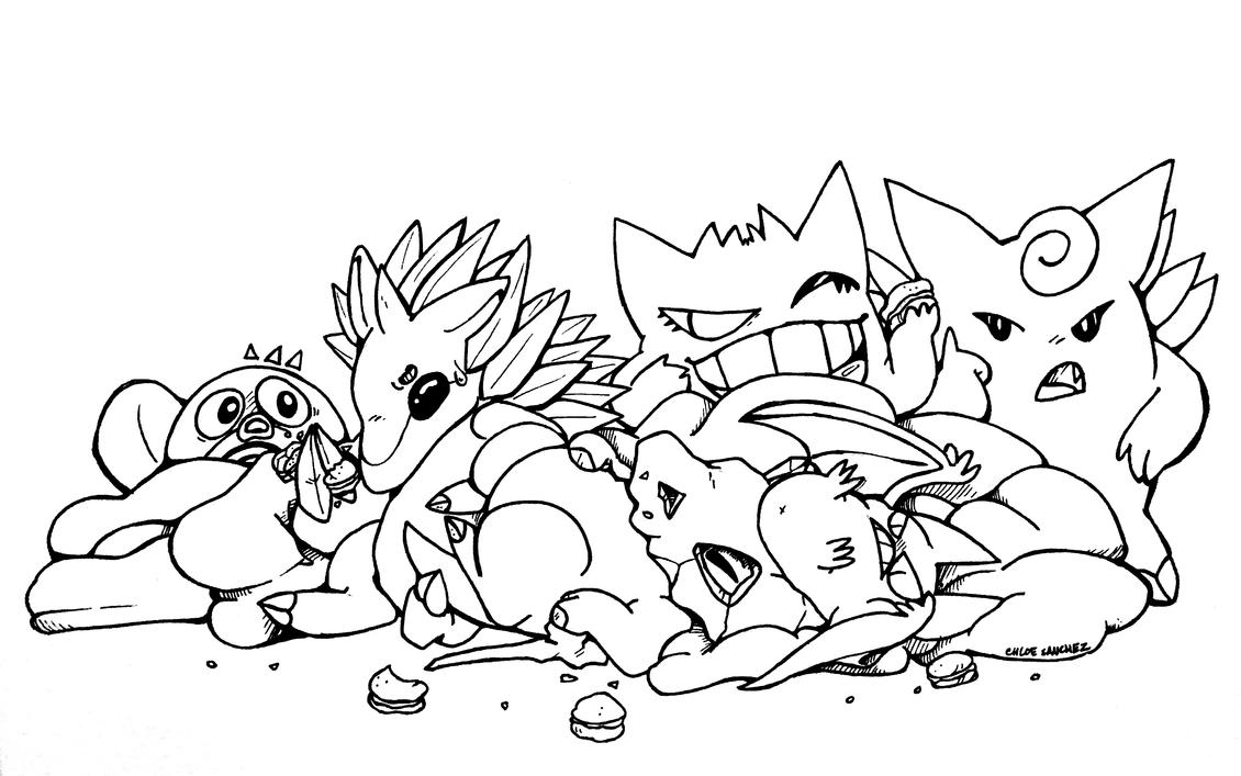 Pokemon Amie by battychow