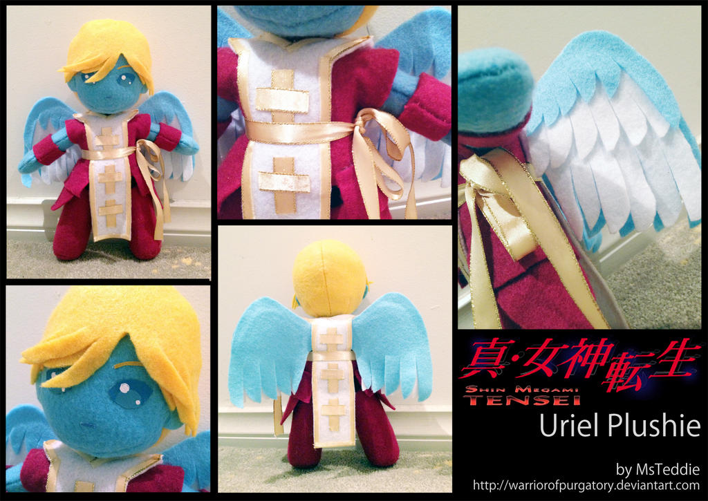 Uriel Plushie by WarriorOfPurgatory