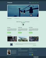 Connector web template by chopstickz92