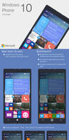 Windows Phone 10 Concept by chopstickz92