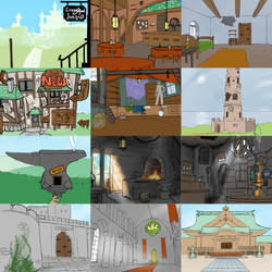 Background Colection 2 (WIP) by Sehad