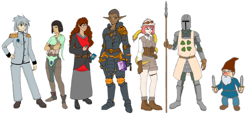 Character Gallery (WIP) by Sehad