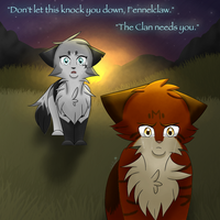 The Clan Needs You- Cinderfrost and Fennelclaw by xCinderfrostx