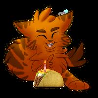 Birthday Tacos! by xCinderfrostx