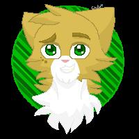 Lionflame- Pixel Headshot by xCinderfrostx