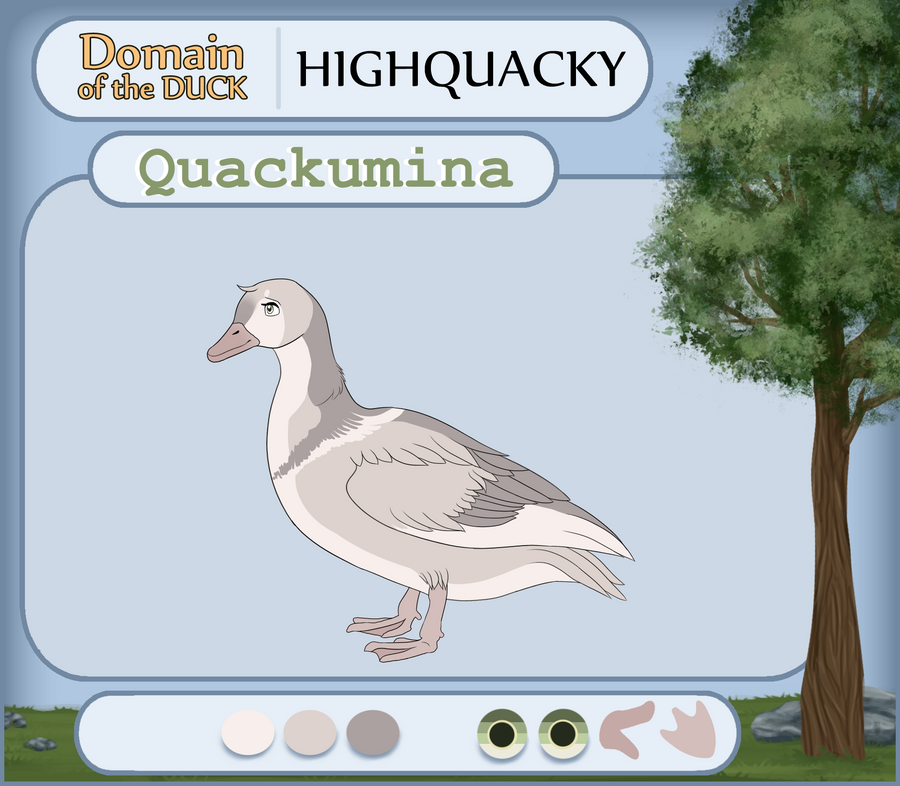 {DotW - April MSE} Quackumina by xCinderfrostx