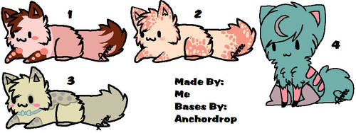 ~::Adoptables::~ ::OPEN:: by TheOtakuSan