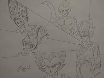 Dragon Ball Z 30th Anniversary by Danielfs5