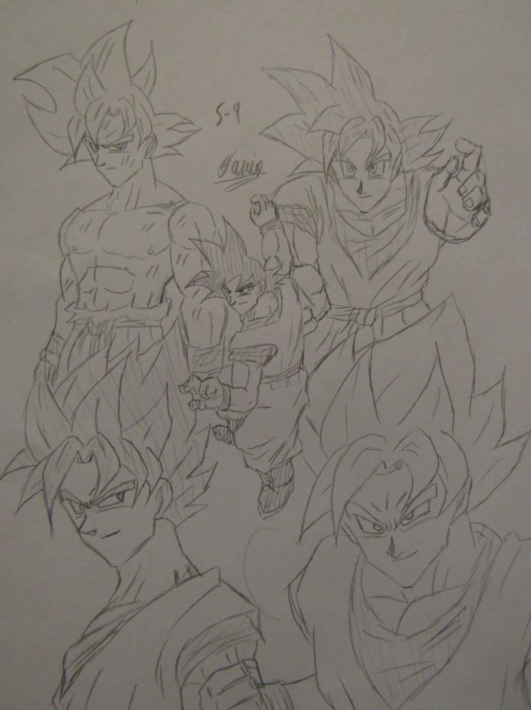 Goku Day 2019 by Danielfs5