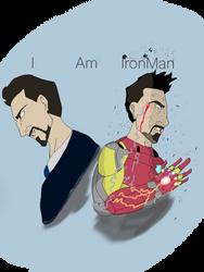 I am Iron Man by Danielfs5