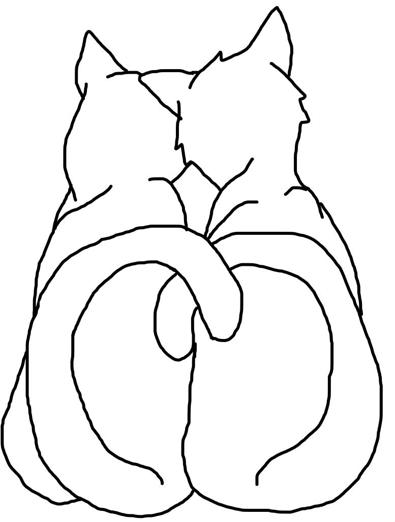 cuddling kittys YCH by Shantayz-Shan