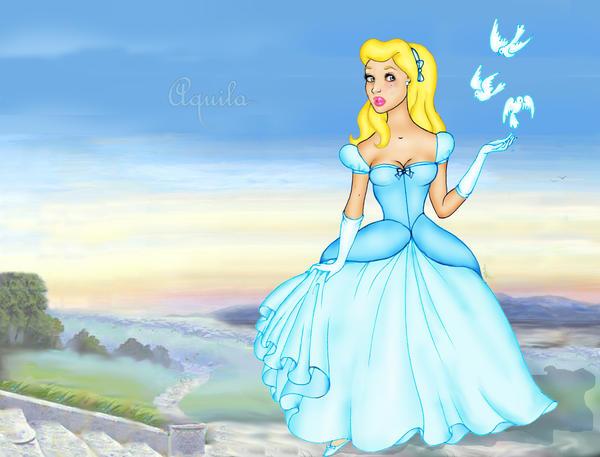 Cinderella birds by Aqvila