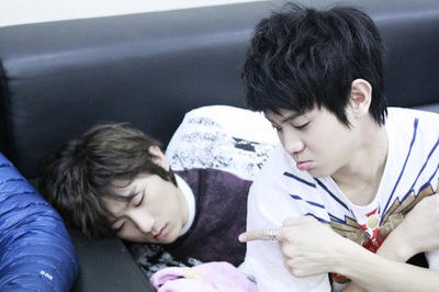 Yoseob with Hyun Seung by yulitza25