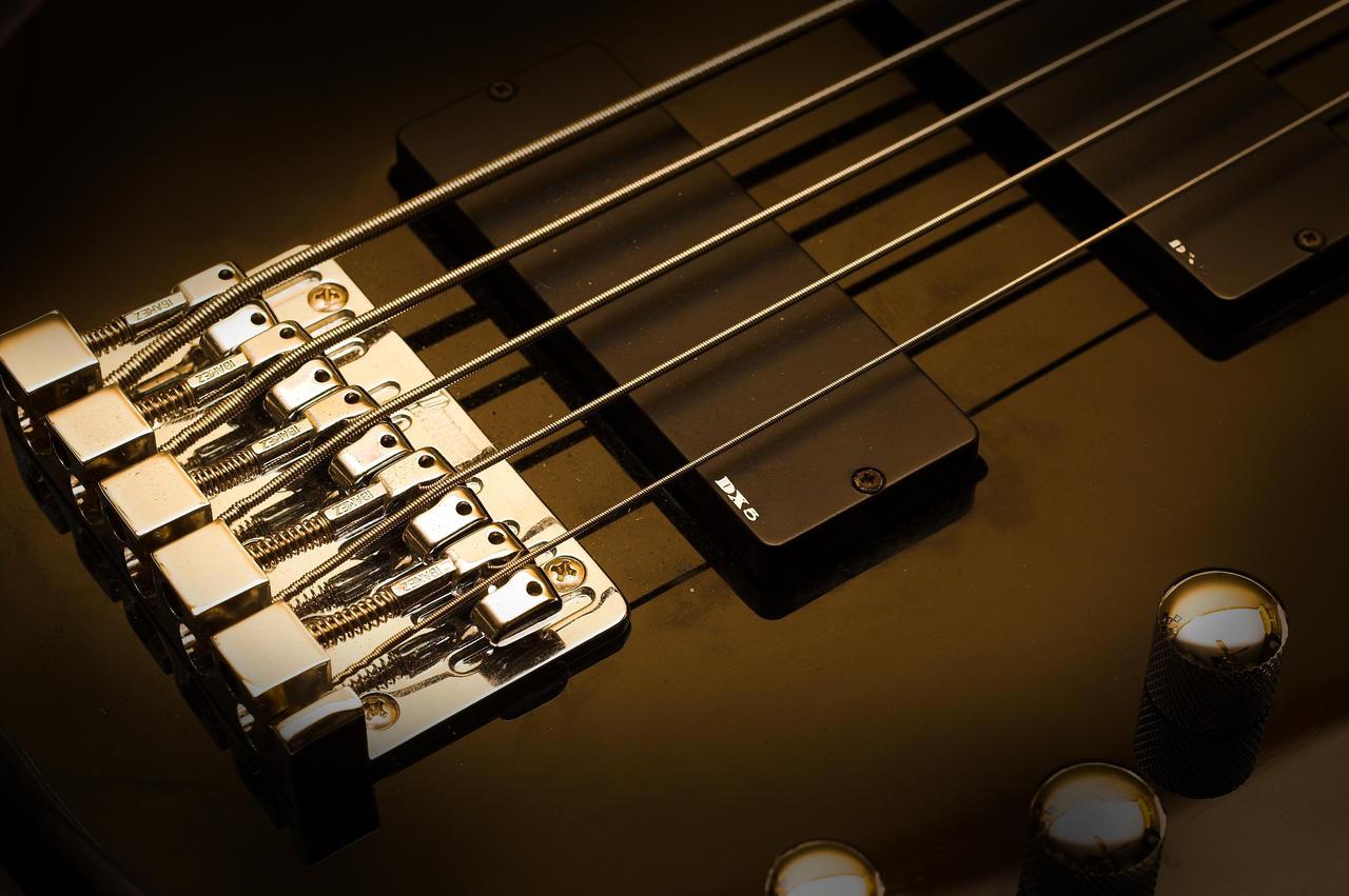 5 String Bass By Animepeep