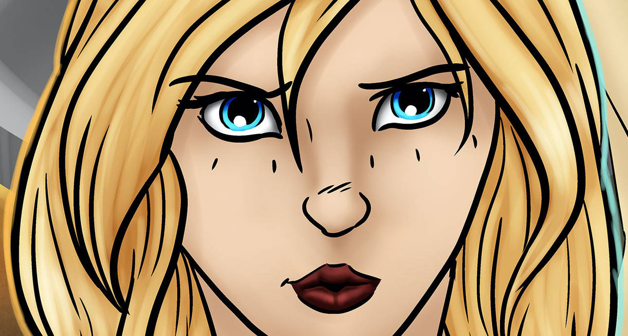 (re)Introducing Evangeline (art by CallMePlissken)