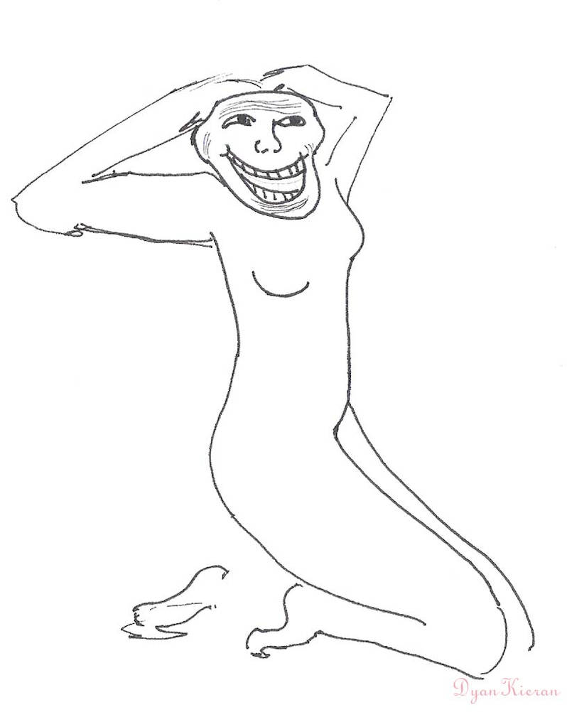 Nude Troll