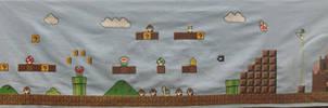 Huge Mario Cross Stitch- FINIS