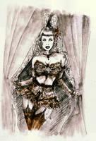 Burlesque Queen... by BlueMillenium