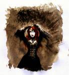 Dark Witch in Black Forest 27 by BlueMillenium