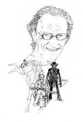 Homage to Moebius...Jean GIRAUD by BlueMillenium