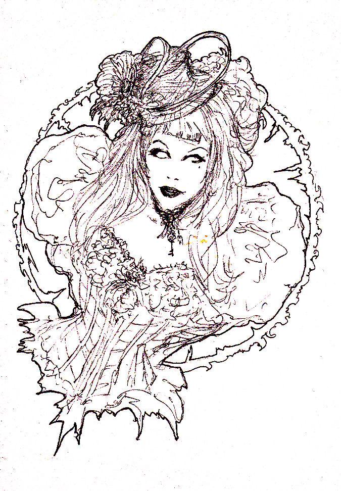 Comtesse Kassandra de la Sombritude... by BlueMillenium