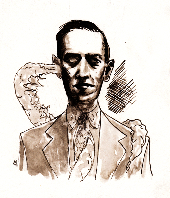 Happy Birthday H. P. Lovecraft... by BlueMillenium