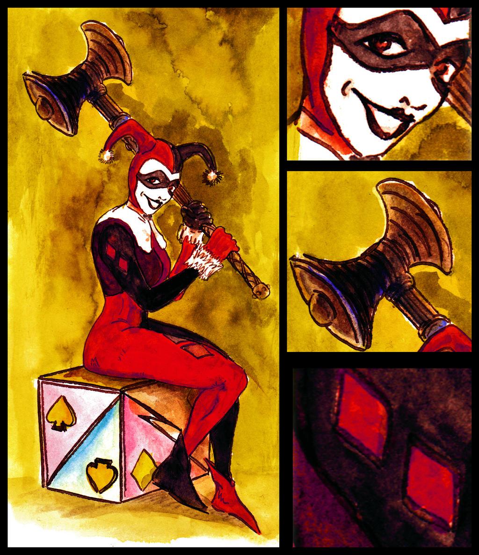 Harley Quinn... by BlueMillenium