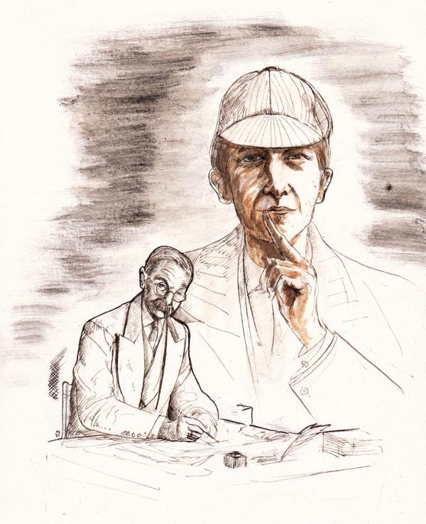 Sir Arthur Ignatius Conan Doyle... by BlueMillenium