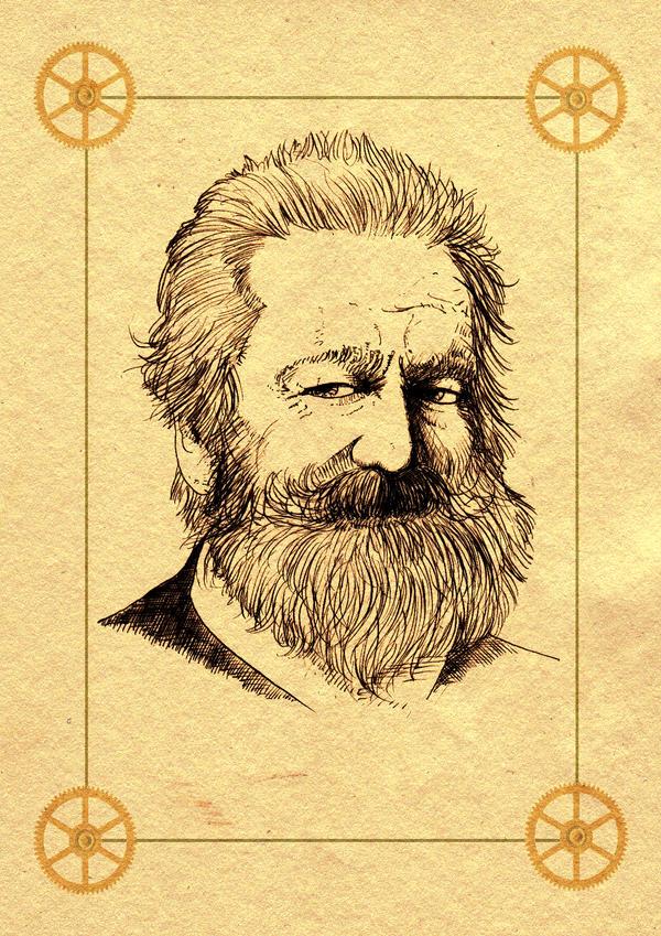 Monsieur Victor Hugo... by BlueMillenium