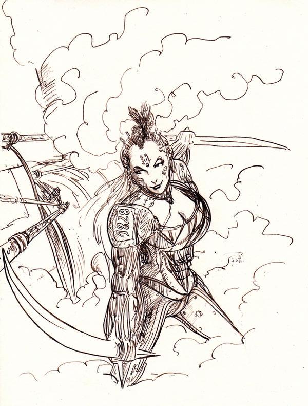 SteamBot Warrior... by BlueMillenium