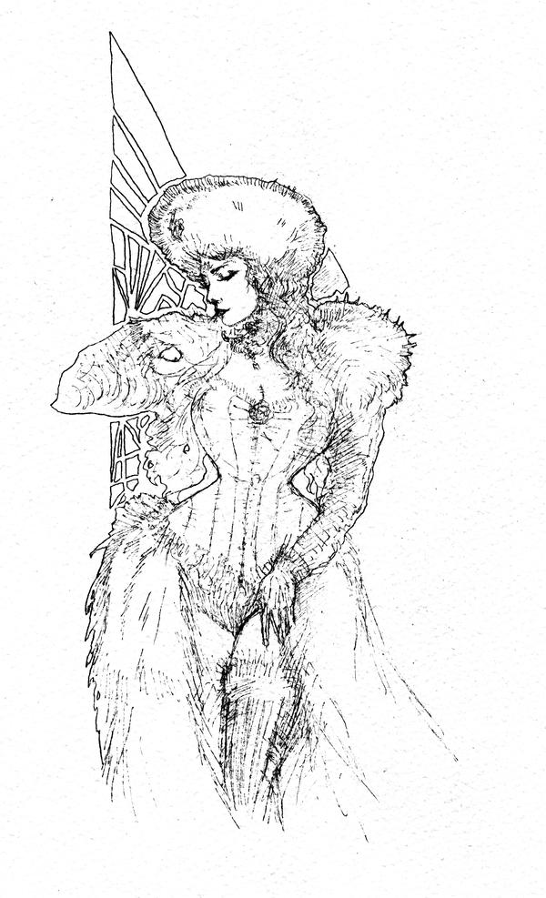 Contessa Irina... by BlueMillenium