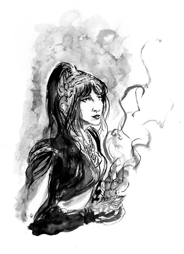 Lucile dans les vapeurs dOrient... by BlueMillenium