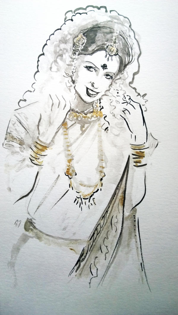 Shonali... by BlueMillenium