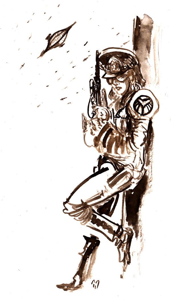 Captain Eagle... by BlueMillenium