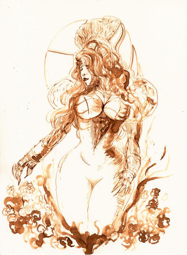 Amelia... by BlueMillenium