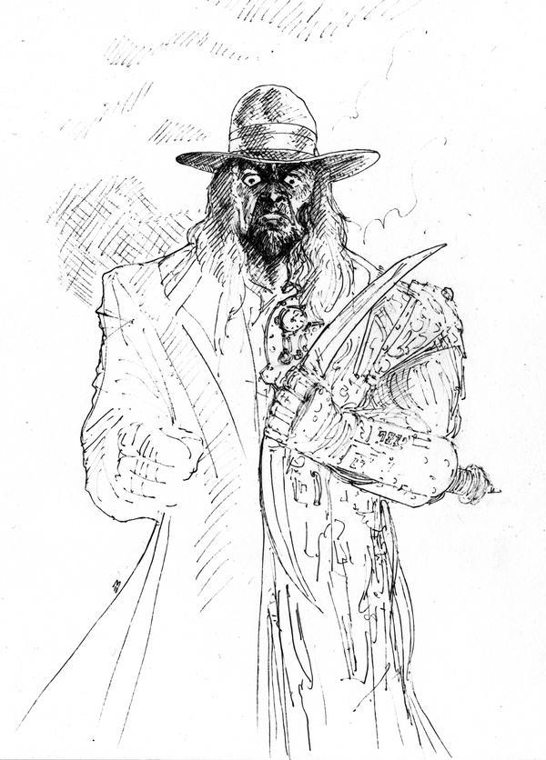 The Undertaker... by BlueMillenium
