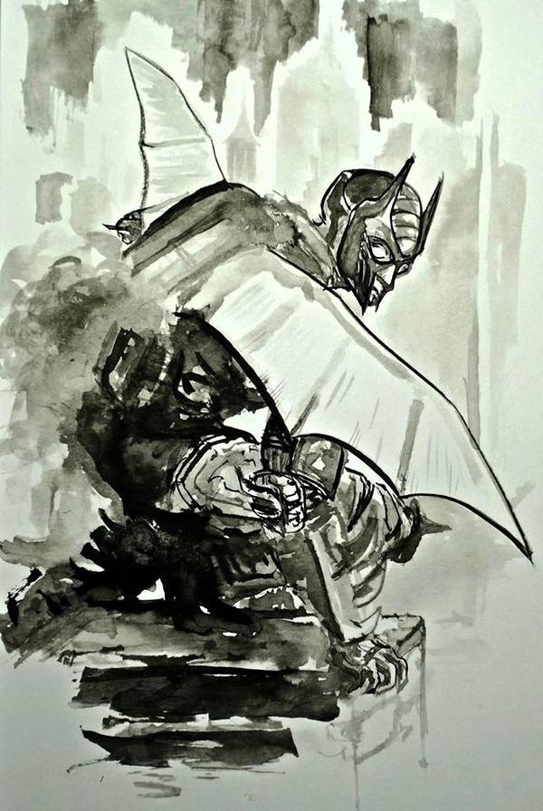 The Bat Man... by BlueMillenium