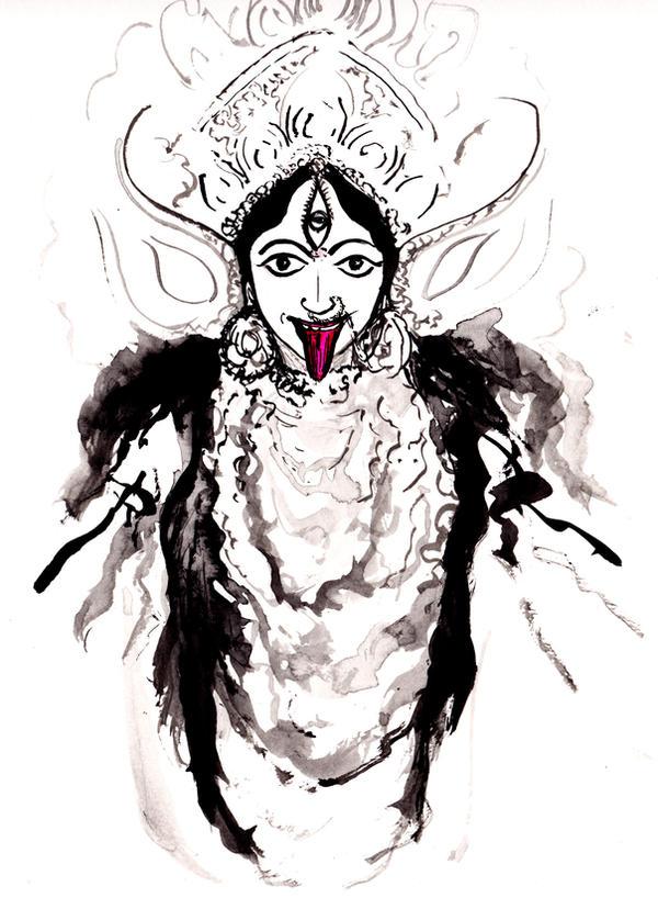 Happy Kali Puja.... by BlueMillenium
