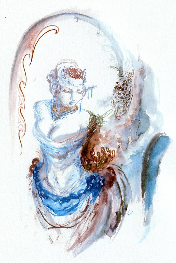 Miss Lafayette... by BlueMillenium