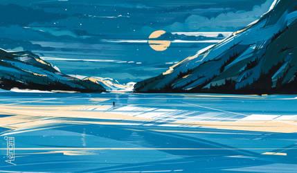 Landscape by Aenami
