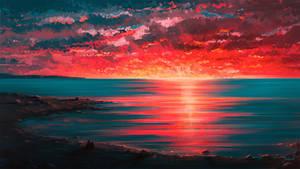 Seaside by Aenami