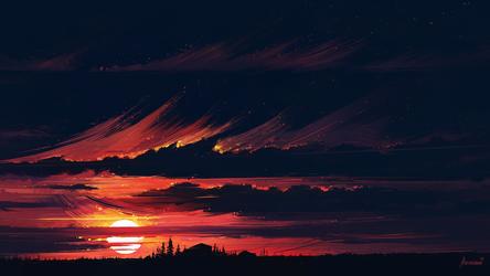 Sundown by Aenami
